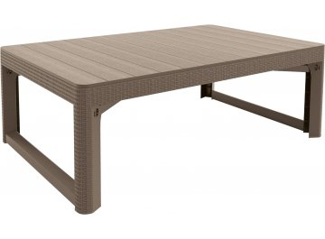 Стол Lyon rattan table 17202805 капучино